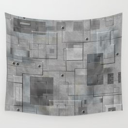 Industrial Tiles Wall Tapestry
