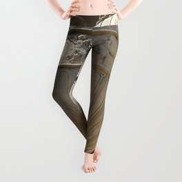 Decorative Urn - Palace Of Fine Arts SF Leggings
