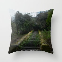 Steps Throw Pillow