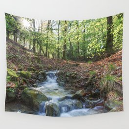 Early Spring Sunrise Wall Tapestry