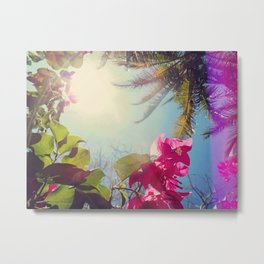 Island Foliage Metal Print