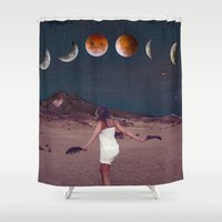 planets Shower Curtains featuring Planets by Cs025