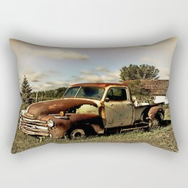 Rusty '51 Chevy Pickup Rectangular Pillow