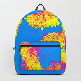 90's neon art grafitti Backpack