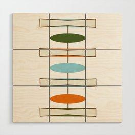 Mid-Century Modern Art 1.2 Wood Wall Art