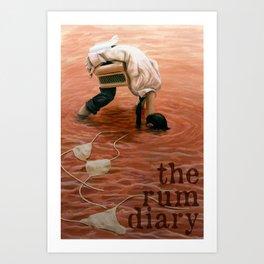 The Rum Diary Art Print