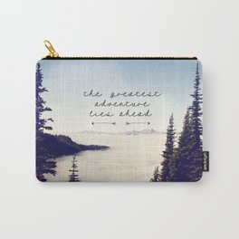the greatest adventure- mountains Carry-All Pouch