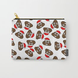 christmas poo emoji Carry-All Pouch