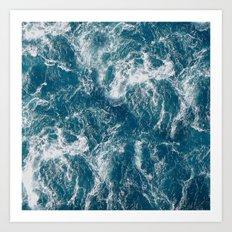 Sea water Art Print