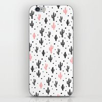 cactus iPhone & iPod Skins featuring Cactus  by Make-Ready