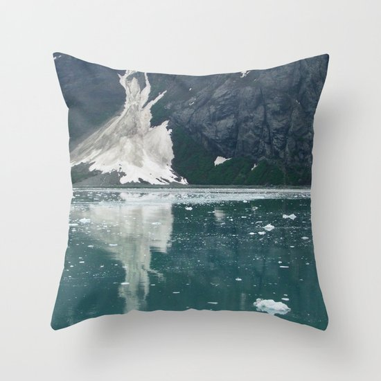 alaskan ice. Throw Pillow