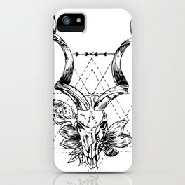 Beauty in Death iPhone Case