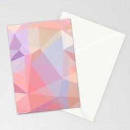 Powder Geometry - bright Stationery Cards