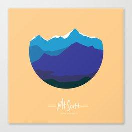 Mount Scott (explore Oklahoma series) Canvas Print