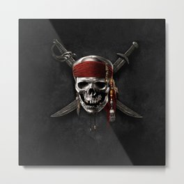 pirate,s curse Metal Print
