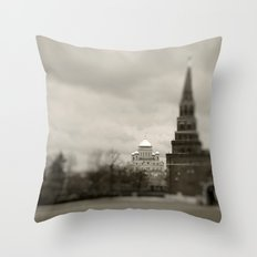 Cathedral view from Kremlin  Throw Pillow