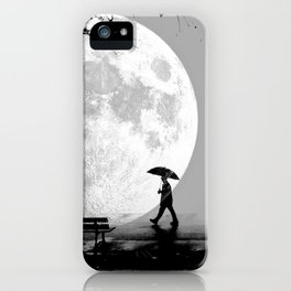 Moonlight Park iPhone Case