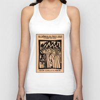 literature Tank Tops featuring A Clash of King as Cordel Literature by 23242322