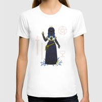 tarot T-shirts featuring Witch Series: Tarot Cards by LordofMasks