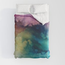 Rainbow Dreams Duvet Cover