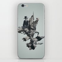 cage iPhone & iPod Skins featuring Rib Cage by Joe Castro