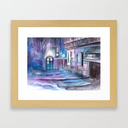 WhoLock  Framed Art Print
