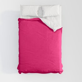 Hot Pink Color Comforters
