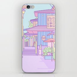 Continuously Lost in Japan iPhone Skin