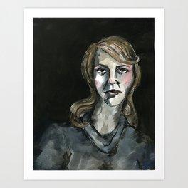 Sylvia. Art Print