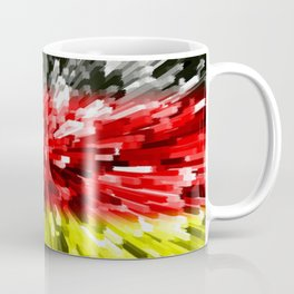 Extruded Flag of Germany Coffee Mug