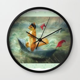 The Landing Party Wall Clock
