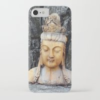 asian iPhone & iPod Cases featuring ASIAN GODDESS by JANUARY FROST