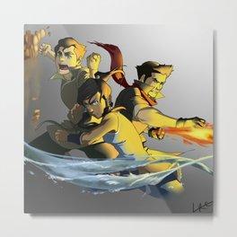 Team Avatar Metal Print
