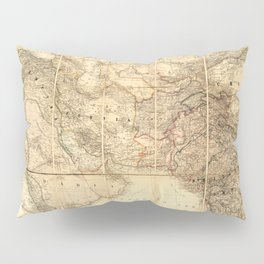 Middle East Map (1885) Pillow Sham