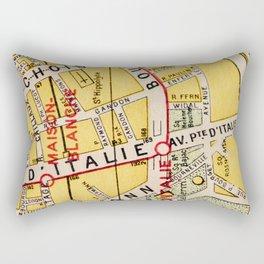 All About Paris IV Rectangular Pillow