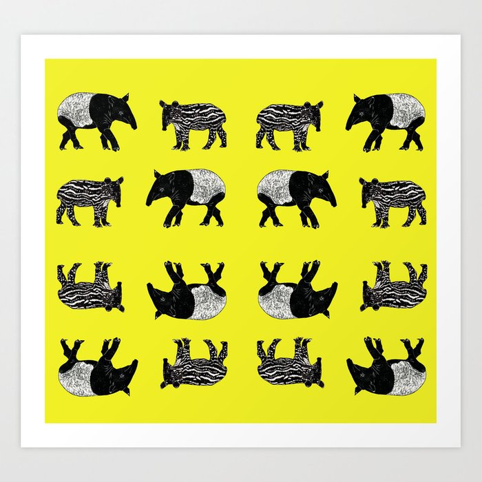 Dance of the Tapirs Kunstdrucke