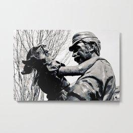 Centennial statue Metal Print