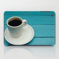 coffe iPad Cases featuring Coffe by Camaracraft
