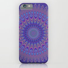 Purple mandala iPhone 6s Slim Case