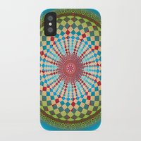 health iPhone & iPod Cases featuring Health Mandala - מנדלה בריאות by dotan yiloz