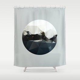 Island at Sea Shower Curtain