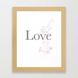 Love, image for love ! Framed Art Print