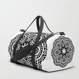 Polynesian style mandala tattoo 2 Duffle Bag
