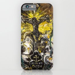 Jesu XPI PASSIO. The heart of Gema iPhone Case