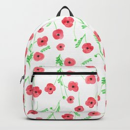 Poppies on a Field Backpack