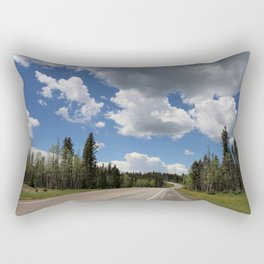 On The Road To Chama Rectangular Pillow