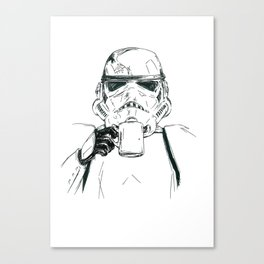Monday Mornings Canvas Print
