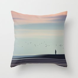 Drifting By Throw Pillow