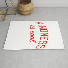 Kindness is Cool Rug