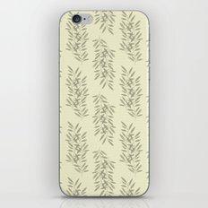 Linen Leaves iPhone & iPod Skin